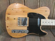 MGK Reclaimed Pine  Barncaster Built with Fender Telecaster Parts #MikeGeeKustoms