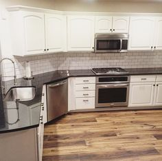 This is some nice inspiration for your kitchen remodel. | Pass One Hour Heating & Air Conditioning | (618) 997-6471 | www.passonehour.com