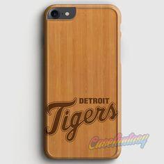 Wood Detroit Tiger iPhone 7 Case | casefantasy