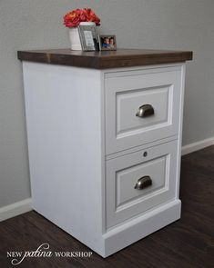Trendy Home Office Furniture Storage Filing Cabinets Ideas Office Storage Furniture, Refurbished Furniture, Repurposed Furniture, Furniture Makeover, Home Furniture, Painted Furniture, Furniture Ideas, Farmhouse Filing Cabinets, Diy Cabinets