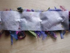 Things I've learned lately...: #Felting using Water Soluble Stabilizer