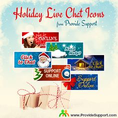Getting ready for holidays? Why not dress up your website and your Live Chat to get your site visitors and customers in the holiday mood? Visit our galley of holiday-inspired Live Chat icons (available in different languages) and choose the one that seamlessly blends in with your brand: http://www.providesupport.com/product/chat-icons-winter-en.html #livechat #livesupport