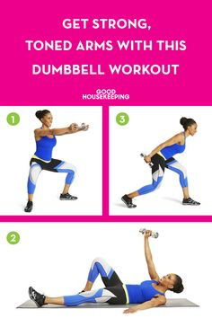Wave in tank top season with more confidence — and less jiggle — using this dumbbell workout for your arms.