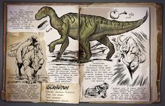 Iguanodon | Игуанодонт | ARK: Survival Evolved
