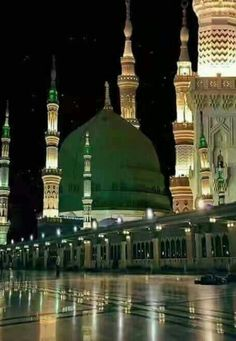 Where did Prophet (PBUH) stay in Madinah? Al Masjid An Nabawi, Mecca Masjid, Masjid Al Haram, Islam Religion, Islam Muslim, Islam Beliefs, Allah Islam, Islamic Images, Islamic Pictures