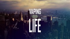 —#Vaping is life. You're either about the #VapeLife or you're not. Beats smoking cigarettes any day. Happy Friday! #TGIF www.aercigs.com