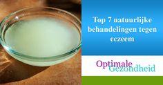 Ontdek welke 7 natuurlijke behandelingen tegen eczeem de jeuk en plekken kunnen verminderen. Een tipje van de sluier: kokosolie is erg goed voor de huid. Allergies, Soap, Personal Care, Skin Care, Health, Holland, Fit, Health Care, Shape
