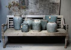 Parvani | Tuinbank-oud-teak