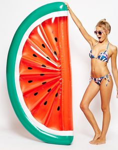 Amazing choice of pool inflatables available at ASOS, can't wait for summer! Sunnylife Inflatable Watermelon