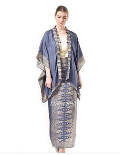 Kebaya Modern Hijab, Model Kebaya Modern, Kebaya Hijab, Kebaya Lace, Batik Kebaya, Kebaya Dress, Blouse Batik, Kimono, Kebaya Wedding