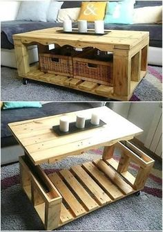 Most popular pallet table projects