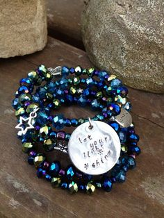 Let Your Light Shine Five wrap memory wire by DFInspirations, $40.00