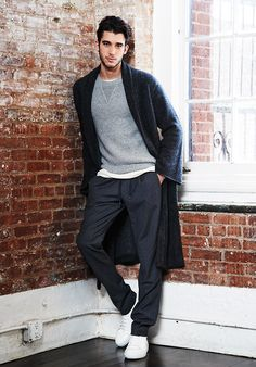 The Stylish Man's Guide to At-Home Dressing: Style Tips : Details