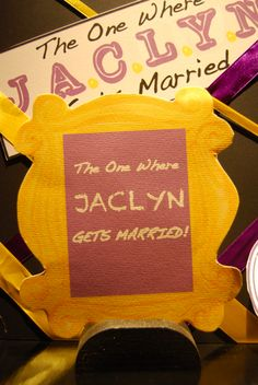 The Friends Theme Inspiration Based On Ubiquitous Yellow Frame Themed Bachelorette Parties