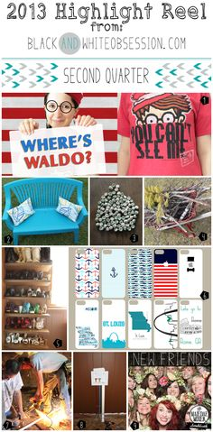 2013 Highlight Reel 2nd quarter. Where's Waldo Edition of What I Wore Fantastic Friday   Updating the good 'ol Outdoors on the cheap   IPhone 5 Clear Case Insert Template   Shoe Shelves from Salvaged Doors