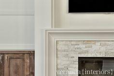 Veranda Estate Homes {Hillhurst} Fireplace detail