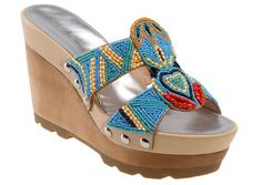 TRIBAL BEADED SANDALS - Google Search