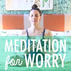 This is a wonderful quick meditation for beginners, it is only 4 minutes! Give it a try. Bex Life also has a ton of other mediation videos as well.