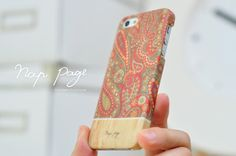 Apple iphone case for iphone iphone 5 iphone 4 iphone 4s iPhone 3Gs :Abstract vintage Indian pattern on wood(not real wood) on Etsy, $19.99
