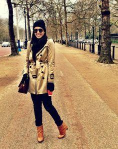 Camila Coutinho - Look com trench coat