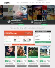 Free WordPress Theme for Crowdfunding Sites : Fundler