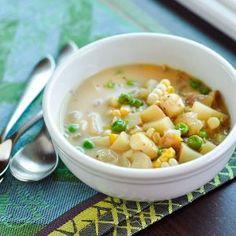 Andean Cheese & Potato Soup