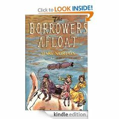 Amazon.com: The Borrowers Afloat eBook: Mary Norton, Beth Krush, Joe Krush: Kindle Store { I'm not exactly sure what the order of the books are, but I'm sure you could look it up on Wikipedia. }