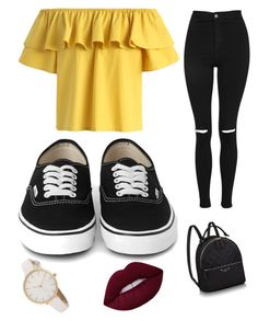 """#33"" by matifon ❤ liked on Polyvore featuring Chicwish and Topshop"