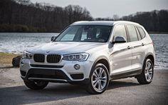 BMW X3, 2016 cars, F25, crossovers, white x3, BMW