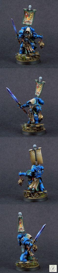 Dark Angels Ezekiel, Master Librarian
