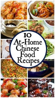 A roundup of 20 delicious chinese food recipes just in time for 10 at home chinese food recipes forumfinder Images