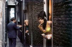 Elliott Erwitt. Amsterdam 1968 Red light district