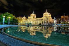 Plaza Zorrilla, Valladolid (Spain) HDR by marcp_dmoz, via Flickr