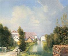 Stifter, Adalbert: Fabriksgarten in Schwadorf