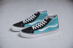 #Vans Vault Sk8-Hi LX Stripes Pack #sneakers