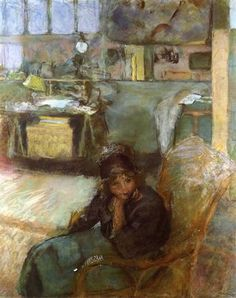 The Studio - Édouard Vuillard, 1912, pastel