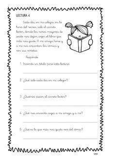 Mini lecturas comprensivas infantil y primaria temática LOS CUENTOS -Orientacion Andujar Elementary Spanish, Spanish Language, 5th Grades, Classroom, Christian, How To Plan, Education, Reading, Mini