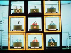 Celebrity Squares presented by Bob Monkhouse - the celebrities were useless at general knowledge!