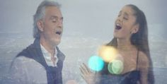 Ariana Grande Made A Duet With Andrea Bocelli You Are My Everything, Favorite Person, Ariana Grande, Breakup, Couple Photos, My Love, How To Make, Opera, Music