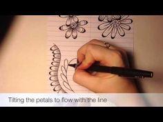 """Henna Alphabet: Element """"L"""" Petal - YouTube"""