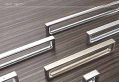 """Berenson's """"Dual"""" pulls are very unique for any drawer, dresser, or cabinet. Are they retro or modern? You decide!"""