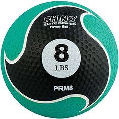 Champion Sports Rhino Elite Medicine Ball, 8lb Champion S...