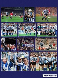 Pictures from the 1 nil Rumbelows Cup win over Man Utd #swfc