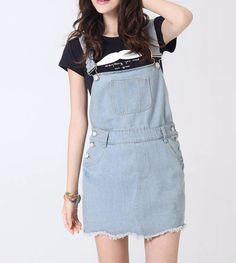ad3b7773935 J8008-1 2017 Women Fashion Jeans Wholesale Ripped Short Denim Women Skirts  Women Dress Overalls Stocks - Buy Wholesale Women Dress