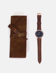 Reloj Piel Marrón Cluse Watches