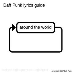 Daft Punk lyrics guide