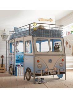 Devan Camper Van Kids Single Bed with Desk and Seat £599.00