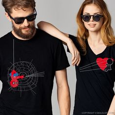 With its radiant red hearts and endearing glance at two lives coming together in love, these his and hers couple shirt set is a perfect way to celebrate the one who put up the stop sign on your search for true romance-you've captured my heart...my heart will be forever yours! A cute and romantic gift to celebrate the love that lights your way. Superhero Gifts, Matching Couple Shirts, True Romance, Forever Yours, Red Hearts, Thick Thighs, Love Couple, Perfect Woman, Couple Gifts