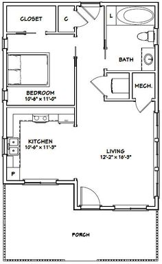 Pin by Lois Pontillo on Tiny House Blueprints... | Tiny house plans Cau House Plans Four Car Garage Html on