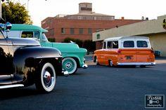 Sweet Chevy trucks